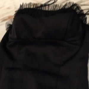 ABS cocktail dress, ties in back, alluring,